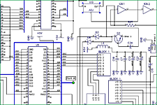 Electronic schematic circuit