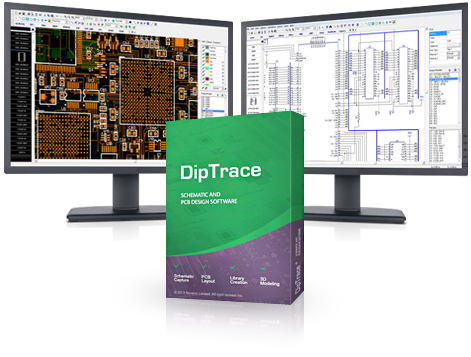 DipTrace full screenshot
